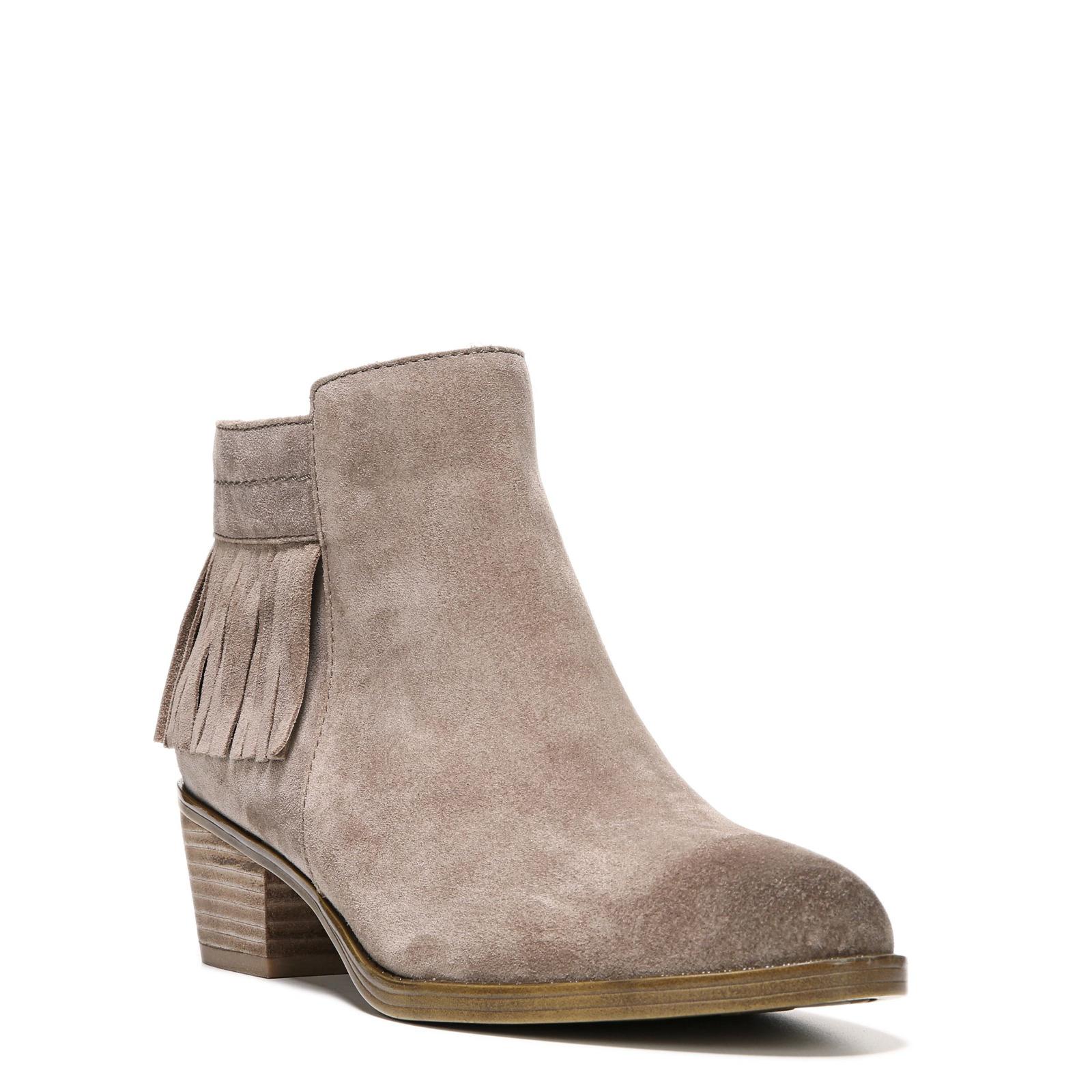 Women's Naturalizer Zeline Bootie Taupe Size 4 #NK56G-M437