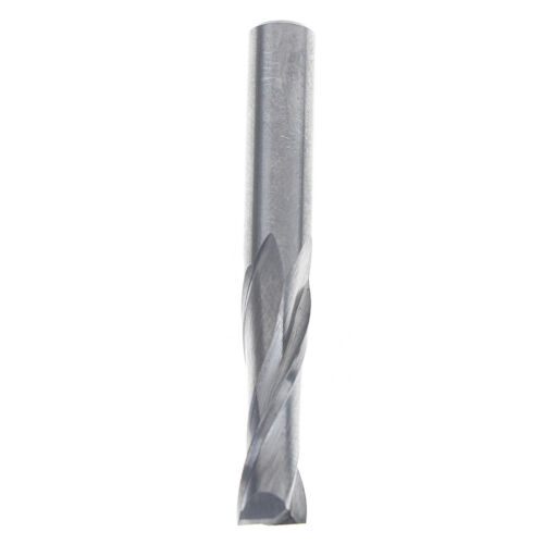 Double flute spiral cutter 6x22mm cnc router bits drill for wood acrylic pvc HF