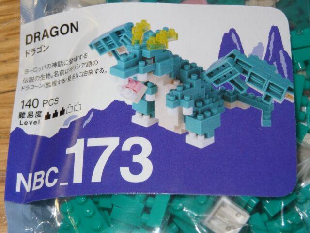 Dragon Nanoblock Micro Sized Building Block Mini Construction Toy NBC173 Kawada