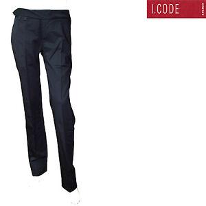 5f8d81c6da48e I.CODE by IKKS Pantalon costume slim noir femme taille 32   eBay