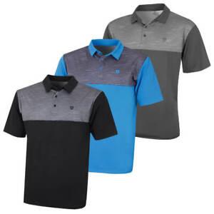 Island-Green-Mens-Golf-IGTS1891-Contrast-Yoke-Polo-Shirt-53-OFF-RRP