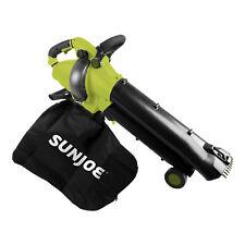 Sun Joe SBJ702E 3-in-1 Electric Blower | 250 MPH | 13 Amp | Vacuum | Mulcher