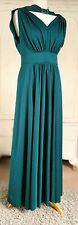 CARNEGIE OF LONDON Vintage 1960's Evening Maxi Occasion Dress Size 16