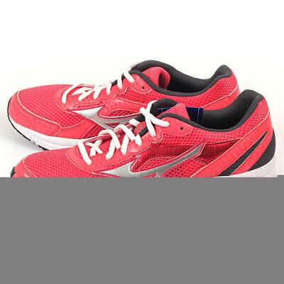 Mizuno Womens Running Shoes Ladies Black//Red PU k1gl1504-18