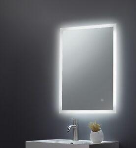 Designer Backlit Frosted Edge Led Illuminated Bathroom Mirror