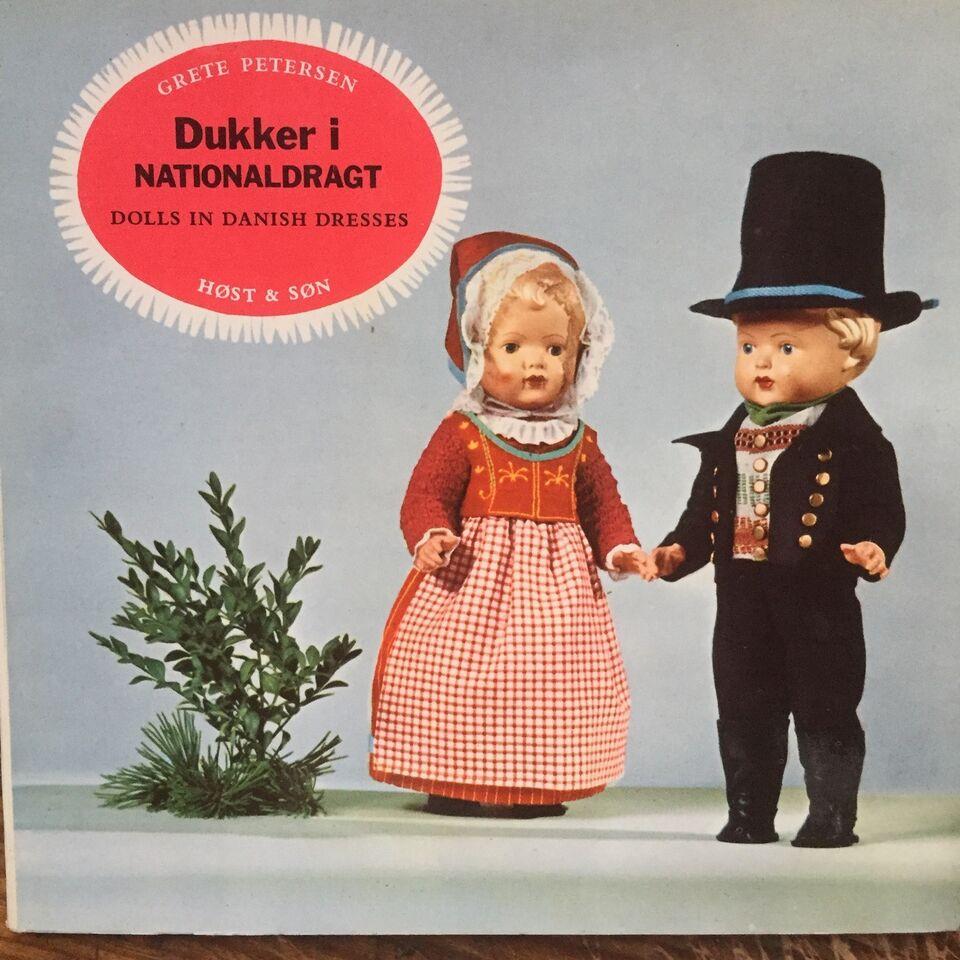 4 x DUKKER & TØJDYR - , div., emne: håndarbejde