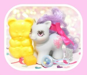 ❤️My Little Pony MLP G1 Vtg TEENY WEENY Tiny BABY Little Honey Pie Newborn❤️