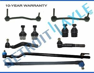 10pc front drag link tie rod ball joints ford excursion f 250 super rh ebay com 1970 Covette Drag Link 1970 Covette Drag Link