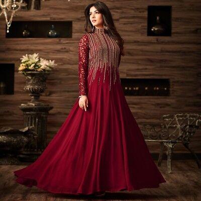 Partywear Indian Salwar Kameez Dress Anarkali Wedding Pakistani  Designer Ethnic