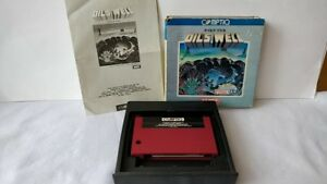 Oil-039-s-Well-MSX-MSX2-Game-cartridge-Manual-Boxed-set-tested-a527