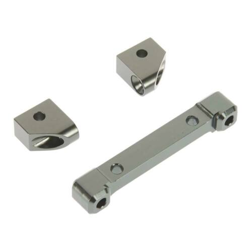 3 STRC Aluminum Rear Hinge Pin Mounts 4Tec 2.0 ST8334RGM