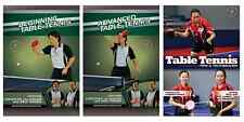 Table Tennis Instructional DVDs - Buy 2 DVDs get 1 free - Also Free Shipping!!