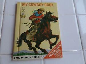 My-Cowboy-Book-A-Rand-McNally-Book-1967-VINTAGE-Children-039-s-Western
