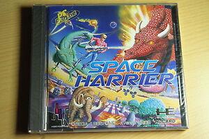 SPACE-HARRIER-shoot-NEC-PC-Engine-Hucard-import-JAP-neuf-new-neu