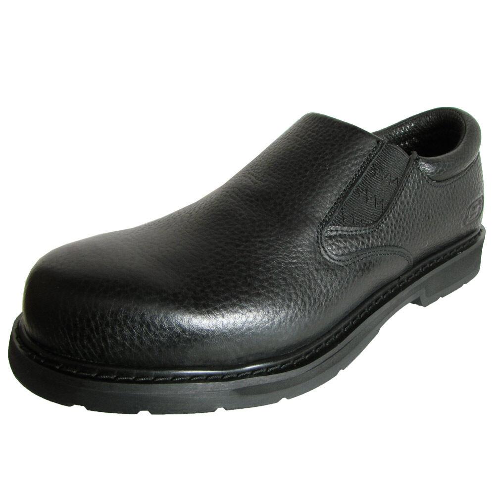 Men's Skechers 76888EW BLK-Size 10.5-Wide Width-New In Box