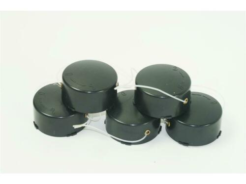 5 Fadenspule Spule passend für VALEX Rasentrimmer DENVER 400//450