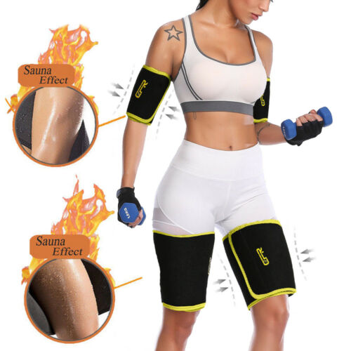 Neoprene Sweat Sauna Body Shaper Arm Slimmer Arm Wraps Thermo Trainer Sleeves