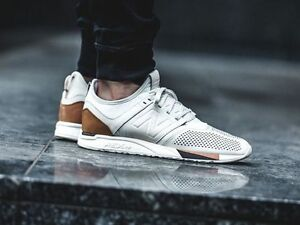 new balance 247 white and black