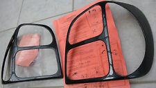 Polo 4 IV 6N GTI Rücklicht Design Carbon-Look Tailcover