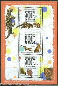 Guinee-2013-Les-chats-sauvages-du-monde-feuille-neuf-sans-charniere
