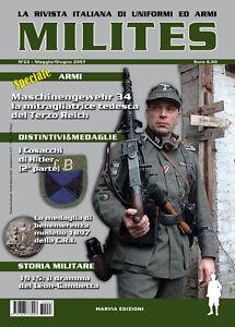 MILITES-da-n21-a-n25-rivista-militaria-magazine-WW2-helmet-uniform-badge-medal