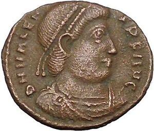 VALENS-034-Last-True-Roman-034-367AD-Ancient-Roman-Coin-Victory-Cult-Angel-i50837