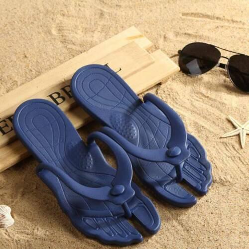 Folding Portable  Couple Beach Casual Sandals Lightweight Outdoor Flip Flops Q