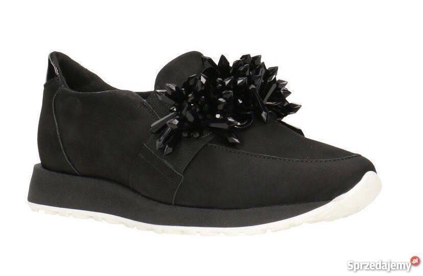 Sra. Gino Rossi mokasyny Yuka slip - on zapatos deportivos negro UK 5 EU 38 ln21 70 salex