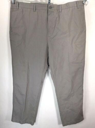 Klein Uomo davanti Nwt Calvin Dimensione cotone Pantaloni 48x30 Fit Straigt piatta 47x29 Beige dCdg4w