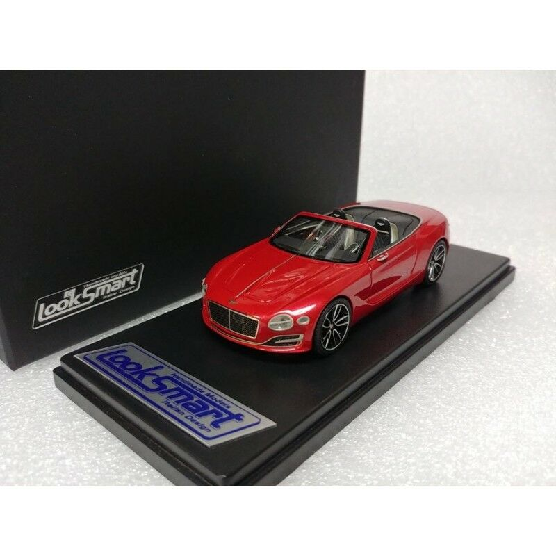 Bentley EXP 12 Speed 6e St. James Red LOOKSMART MODEL 1 43  LSBT06C