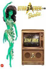 2016 SDCC COMIC-CON MATTEL EXCLUSIVE 50TH ANNIVERSARY STAR TREK BARBIE DOLL MIB