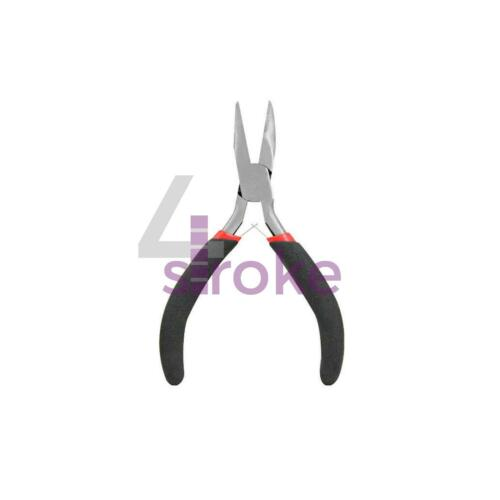 Jewellery Making Mini Pliers Extra Long Bent Nose Side End Cutter Beading Tools