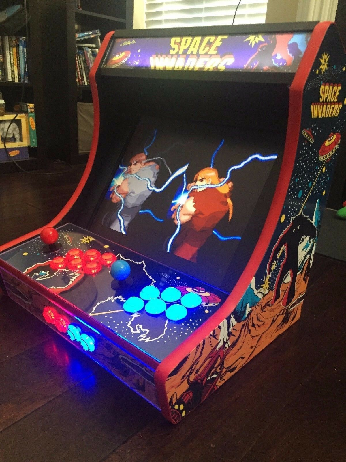 MDF Bartop Arcade Cabinet - DIY Kit W T-molding Cuts Included Pick Your  Panels