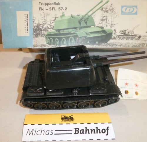 Truppenflak Fla - SFL 57-2 Pneumant Spielzeug OVP U'A å