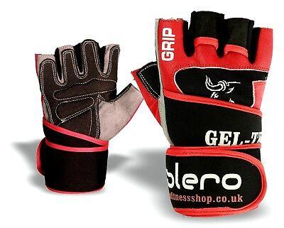 ISLERO Weightlifting Hook Gym Straps Neoprene Gel wrist Support Wraps Grips Pair