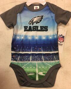 27840f0e7 Image is loading NFL-Infant-Baby-Boys-Stadium-Bodysuit-Philadelphia-Eagles-