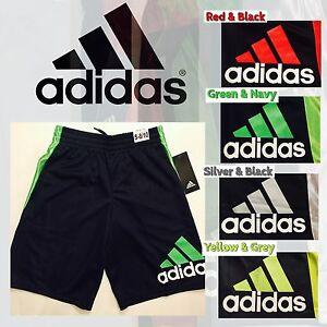 Adidas Boys Athletic Basketball Shorts