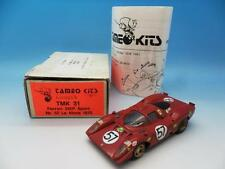 TAMEO WHITE METAL KIT BUILT FERRARI 312P SPORT NO 57 LM 1970 TMK 31 1/43