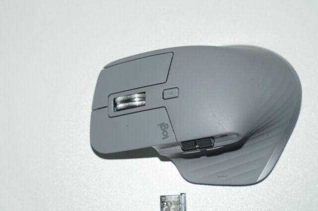 Logitech MX MASTER 3 Erweiterte Drahtlose Maus für MAC - Space Grey