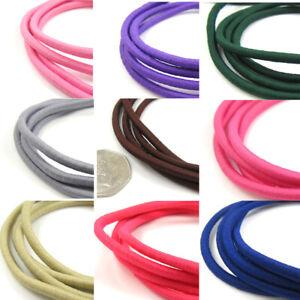 4mm-Round-Coloured-Beading-Milinery-Craft-Stretchy-Elasticated-Cord