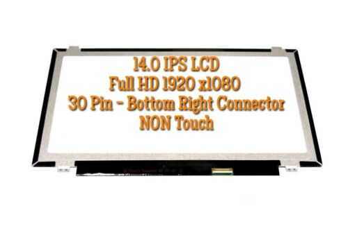 """14.0/"""" FHD IPS LCD SCREEN for lenovo thinkpad T470S T480S NON-TOUCH B140HAN02.4"""