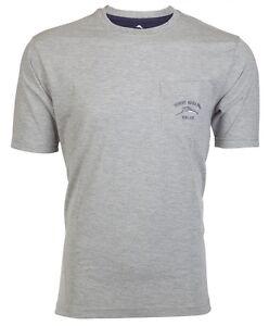 Tommy Bahama Mens T Shirt Bali High Tide Pocket Relax Grey