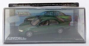 EAGLEMOSS-escala-1-43-EG23520G-1994-1999-Opel-Omega-B-MV6-Verde