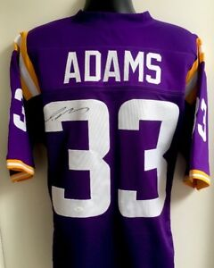 size 40 c308f 35f56 Details about Jamal Adams LSU Tigers New York Jets Autographed Signed  Jersey JSA COA