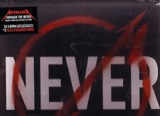 """METALLICA """"Through the Never"""" Red, White and Black VINYL-BOX Record Store Day"""