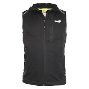 heiß-verkaufendes spätestes ziemlich billig Einzelhandelspreise Details about Puma Sailing Team Zip Gilet Body Warmer Jacket Black Mens  506813 01 RW35