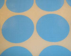 1000-Azul-Claro-20mm-1-9cm-codigo-de-color-lunares-Pegatinas-Redondas-Adhesivo