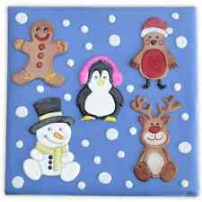 Patchwork Cutters Cute Christmas Characters Set   Next Day Despatch