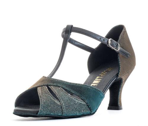 """Femmes brillant social salle de bal chaussures de danse sociale 2.5/"""" talon ruby par topline katz"""