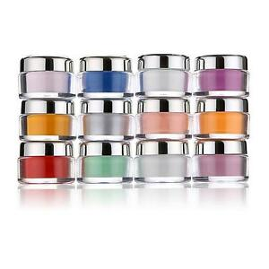 Acrilico-CRISTAL-Polimero-Polvo-Para-Unas-Arte-15g-14-2ml-12-color-Elige